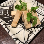 初かすみ酒房 - クリームチーズ 塩粕漬け
