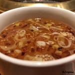 陽山道 - spécialité 牛すじ+魚介のスープ
