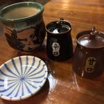 一平 - 一平(宮崎県宮崎市松山)あがり・2種類の醤油