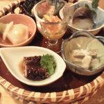 和食じょうず たかの家 - 前菜盛合せ