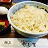 やしま - 料理写真:あげ玉きしょうゆうどん¥630+半熟たまご¥100 (2017/7現在)