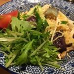 麺Dining セロリの花 - 冷やし塩冷麺780円