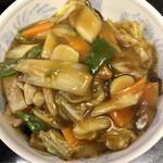 風味亭 - 中華丼 ¥700