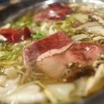 肉居酒屋 蝦夷共和国 馬鹿だもん - しかすき焼き鍋