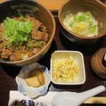 佐勘 - 牛丼とミニ稲庭うどん