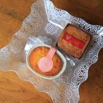 ボイゲル - 料理写真:ミルクケーキ・ガレット