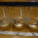 銀座酒蔵検校 - 日本酒飲み比べ800円月セット
