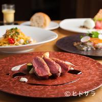 アッラゴッチャ - ランチコース『MENU B』はその日の新鮮な食材を使って