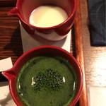 茶楽 かぐや - 抹茶と練乳