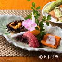 弘寿司 - 鮮度の良さが見るからにわかる『本日のお造り』