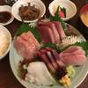 和食 かとう - 料理写真:日替わりの刺し身定食、2500円。コストパフォーマンスの優等生定食。ご飯はもちろんおかわり!