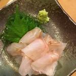 家康本陣 - 料理写真:胡麻ハタの刺身