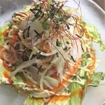 目からうろこ - 料理写真:韓国風冷麺サラダ