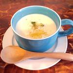 プカ オーガニクス - セットのスープ(ヴィシソワーズ)
