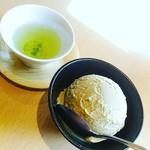 宇治園 札幌直営店 - 【2017/7】ほうじ茶アイス
