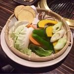 しげ吉 - 野菜焼×1人前