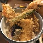 蕎膳 楽 - 【2017.6.26】美味しい天丼。