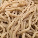 どん太 - 麺のアップ