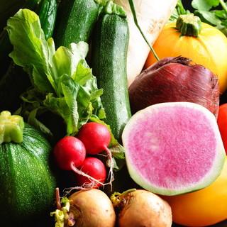 直接契約農家さんから届く無農薬野菜♪