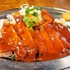 大富士 - 料理写真:ポークチャップ【A】定食(ポークチャップ)