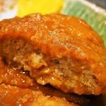 大富士 - 特A定食(ハンバーグ)