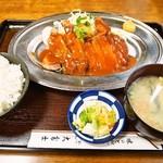 大富士 - ポークチャップ【A】定食