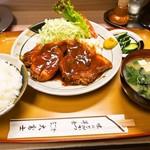 大富士 - ポークチャップ定食