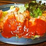 味のとんかつ 大富士 - 料理写真:ポークチャップ定食(ポークチャップ)