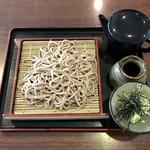 湯元 小金湯 - 料理写真:せいろ蕎麦、640円です。