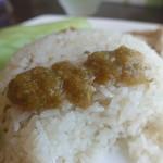 タイ家庭料理 マイヤー - カレーソースをかけて