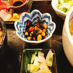 関西割烹 なごみ - 小鉢 ひじき煮