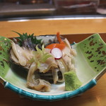 鮨処魚徳 - 北寄貝刺し
