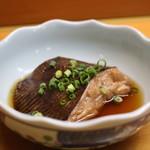 鮨処魚徳 - 真鰈の煮付