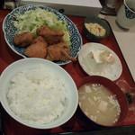 お食事 いちばん - 鳥の唐揚げ定食