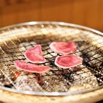 Sizen Mukuan - 料理写真:猪のタンの炭火焼き