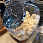 ダンデライオン チョコレート - サービスのマシュマロ