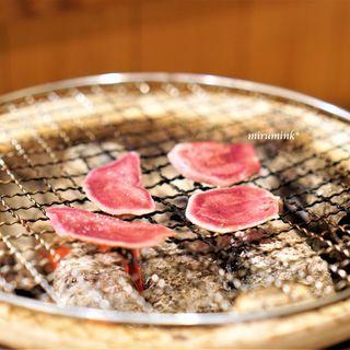 召膳 無苦庵 - 料理写真:猪のタンの炭火焼き