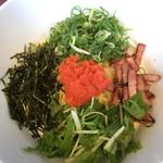 まぜパスタのおみせ メスコラーレ - 料理写真:メンタイコクリーム(税込960円)(2017.07現在)