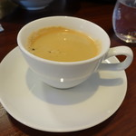 ビストロ ダイア - 最後はコーヒーで