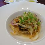 ビストロ ダイア - 海の幸味噌入りブールブランソース