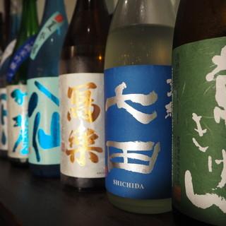 日本酒は純米酒のみ!その他各種ご用意しております