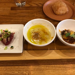 アンティカブラチェリアベッリターリア - 本日の前菜盛り合わせ