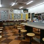 北鯖江パーキングエリア(下り線)フードコート - 店内