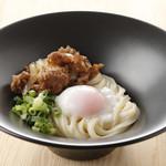 大江ノ郷製麺所 - 料理写真:生姜焼き釜玉【期間限定】