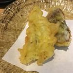 天ぷらとワイン 小島 - 穴子