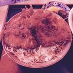 松喜食堂 - 小盛ソースカツ丼