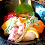 がってん寿司 - ランチ海鮮旬彩丼 1000円