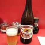 雲龍亭 - 瓶ビール(500円)