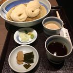 銀座 佐藤養助 - 二味せいろ 醤油 胡麻味噌