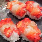 志げ野 - 料理写真:当店のこだわりはコレ! 七尾の赤西貝です。常時入荷しております